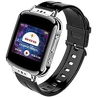HZYWL Control De Voz Inteligente Grabación De Muñeca Activada Reloj De Grabación De Fitness Pulsera Inteligente De Salud Deportiva para Adultos, Grabación Inteligente De Pantalla Grande,16GB