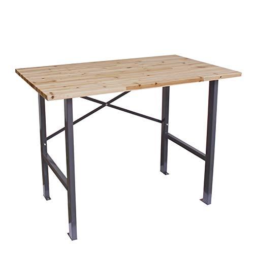 Werktisch 116x70x85cm Arbeitstisch Packtisch Werkstattisch Werkbank Ablagetisch