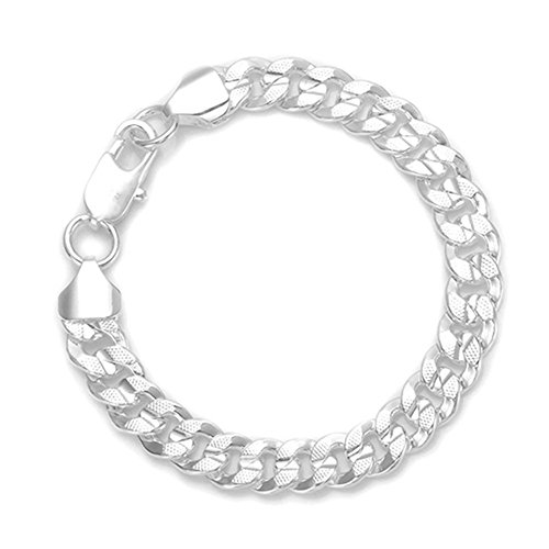 HMILYDYK Jewellery 925Sterling Silber plattiert Damen Herren Armband Classic Hand Kette