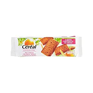 Céréal Nutrizione e Fibre Pain d'Épices con Miele, Segale e Crusca di Segale - 300 gr