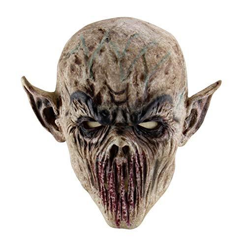 Kostüm Terror Schrecklichen - Haoxiaren Halloween Terror Maske Monster Latex Schrecklichen Cosplay Maske Halloween Party Kostüm