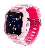 JBC Kinder GPS Uhr/Smartwatch Outdoor (ohne Abhörfunktion) (Pink)