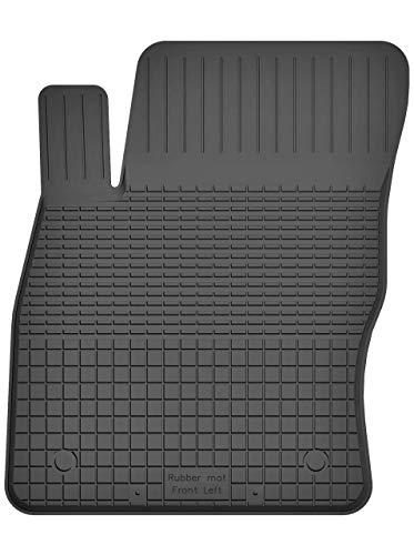 KO-RUBBERMAT 1 Stück Gummimatte Fußmatte Fahrer geeignet zur VW Golf VII (Bj. ab 2013) ideal angepasst - Golf-fahrer 2013