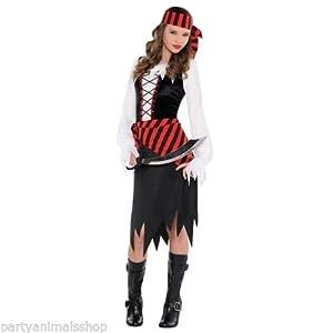 Christys London Disfraz de belleza bucanera para niñas y adolescentes en varias tallas