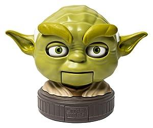 Spin Master Star Wars Busto Interactivamente con Sonido Yoda 22 cm *INGLÉS*