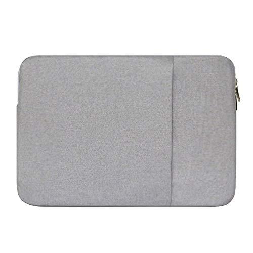 15 Zoll Laptophülle Tasche für Lenovo ideapad 320 720/Dell Inspiron 15/HP 15 Pavilion 15 Spectre x360 15 Envy 15/Acer Aspire E5 F5 ES1 V3,Grau