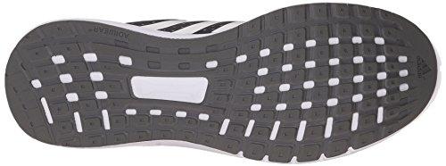 Adidas baskets duramo 7 m chaussures running chaussures de course pour homme noir/argenté Clear Granite Grey/White/Semi Solar Slime