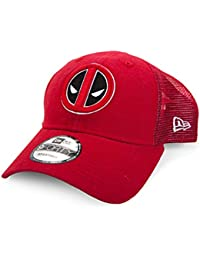 New Era Marvel Deadpool Symbol Washed Trucker Snapback Casquette De Baseball c5e10c138401