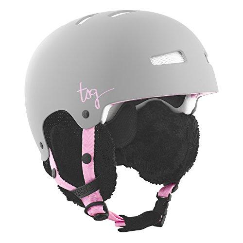 TSG Damen Helm Lotus Solid Color, Satin Mud Grey, L, 750092