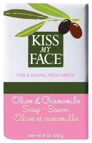 Kiss My Face Soap Bar Chamomile + Olive 237 ml (Stück) (Soap Bar Olive)