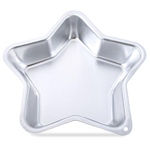 TrifyCore Cinco Puntas de la Forma de la Estrella DIY de aleación de Aluminio Pastel Pan Molde Herramienta de horneado casero