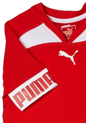 PUMA Kinder Trikot Evospeed Statement Indoor Shirt Puma Red/white