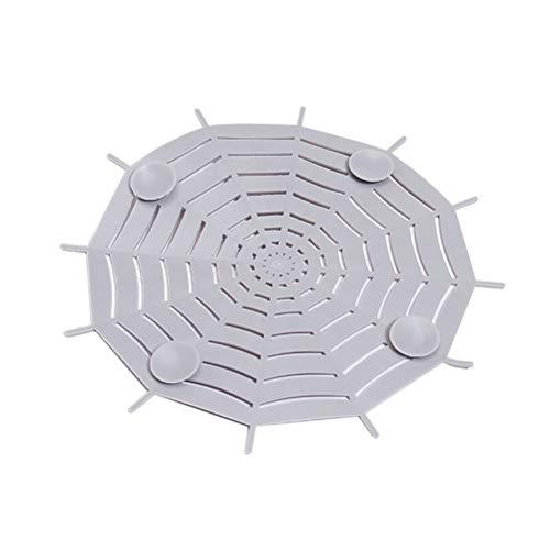 BESTONZON Colino per lavandino da cucina, Ragnatela a forma di ragno ...