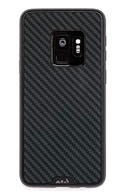 Mous Protective Samsung S9 Case Carbon Fibre/Leather/Walnut/Shell/Bamboo
