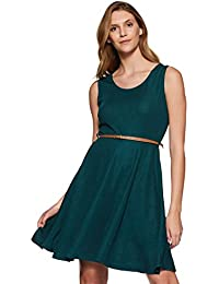 Miss Olive Women's Skater Knee-Long Dress