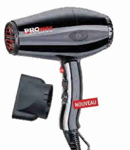 sechoir promex compact-5 noir 2000w tourmaline