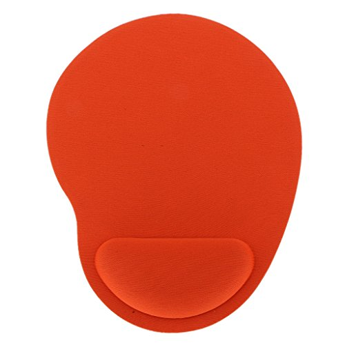 Komfort Weich Gel Gaming Maus Pad Rest Handgelenkstütze Matte - Orange (Handgelenk-rest-maus-pad, Orange)