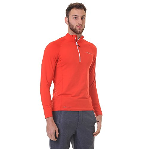 Dare 2b Mens Interfuse Core Stretch Raglan Sleeve Pullover Jacket Raglan-microfleece-pullover