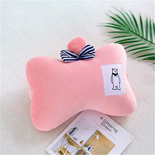 BBQBQ Kissen Cute U-Shaped Pillow Pillow Aircraft travel Neck Pillow pink 20 * 30cm