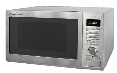 Russell Hobbs RHM2563 25L Digital 900w Solo Microwave Stainless Steel by Russell Hobbs