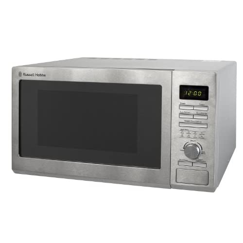 41ZfutGAnvL. SS500  - Russell Hobbs RHM2563 25L Digital 900w Solo Microwave Stainless Steel