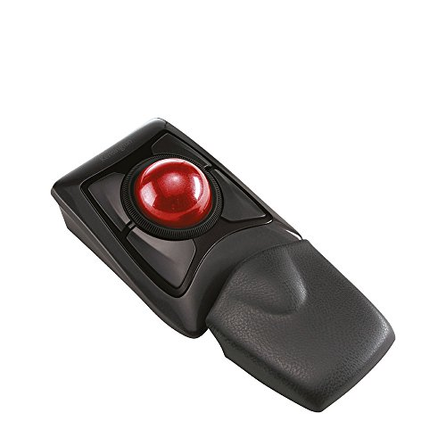 Kensington Expert Mouse, Kabellose Maus mit Trackball, Kompatibel mit Windows & macOS, K72359WW, Schwarz