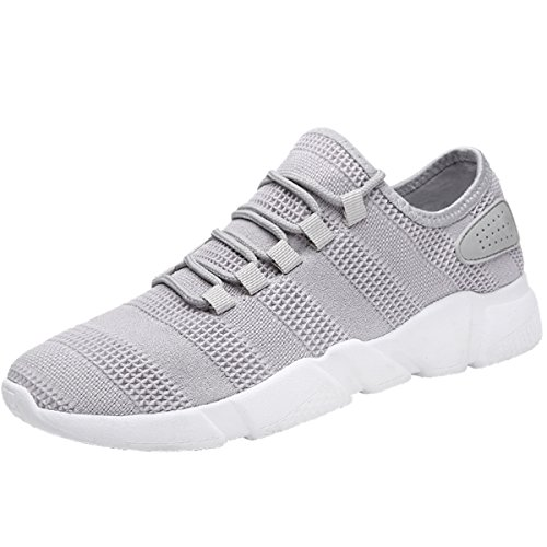 Shoes Mens Casual Leather Shoes Outdoor Exercise Sneakers Comfort Driving Shoes Trainers Shoes (Color : Black Size : 41)