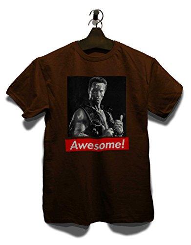 Awesome 09 T-Shirt Braun