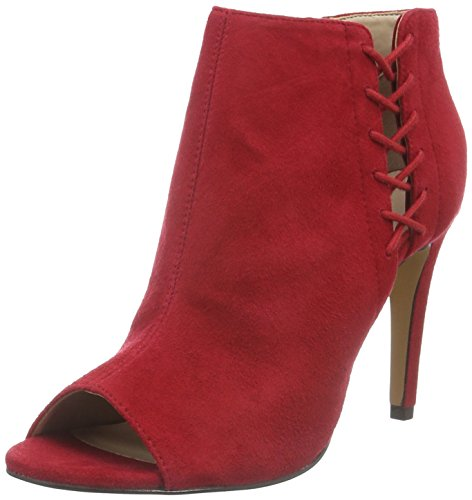 French Connection Quincy, Bottes Classiques femme Rouge - Rot (Tessi Red 651)