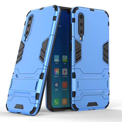 """Max Power Digital Funda para Xiaomi Mi 9 SE (5.97"""") con Soporte - Carcasa híbrida antigolpes Resistente (Mi 9 SE, Azul)"""