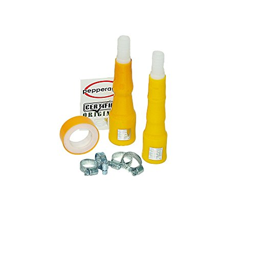 Pepper Agro DIY 7 Piece Water Connection Kit, Yellow