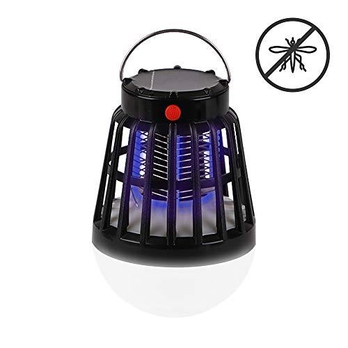 Rcruning-eu portatile lampada antizanzare solare lanterna campeggio led anti zanzare elettrica lampada led zanzare killer usb ricaricabile interno esterno