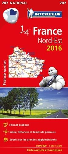 France Nord-Est : 1 : 500 000 par Michelin