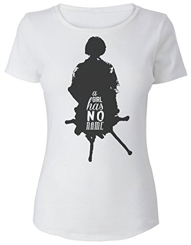 arya-stark-a-girl-has-no-name-silhouette-womens-t-shirt-small