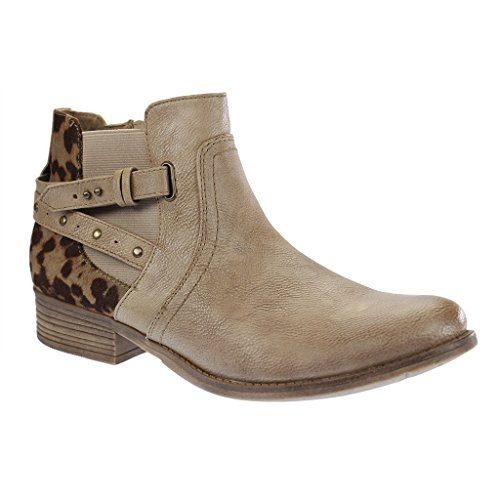 Mustang 1167510, Bottes Chelsea femme Braun (318 taupe)