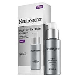 Neutrogena Rapid Wrinkle Repair Moisturizer 1 Ounce Night (29ml) (3 Pack)