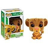 Figurine 'Pop'- Disney - Le Roi Lion - Simba Flocked Version