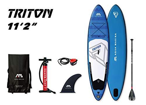 Aqua Marina Unisex-Adult BT-19TRP Triton Stand Up Paddl… | 06954521604657