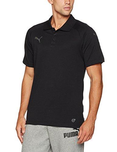 PUMA Erwachsene Ascension Casuals Polo Poloshirt, Puma Black, XXL (Erwachsene Polo Schwarz)