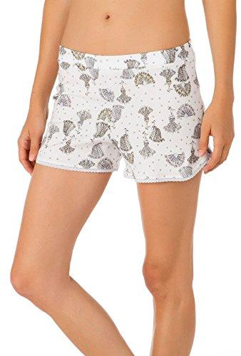Calida - Bas de pyjama - Femme Blanc blanc Star White