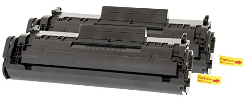TONER EXPERTE® 2 Toner kompatibel für HP Q2612A Laserjet 1010 1012 1015 1018 1020 1022 1022n 1022nw 3010 3015 3020 3030 3050 Canon 703 FX10 i-SENSYS LBP2900 LBP2900i LBP3000 MF4100 (2000 Seiten) -