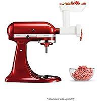 KitchenAid 5FGA Meat Grinder Accessoires Robot, 550 W, 0.5 liters, Blanc