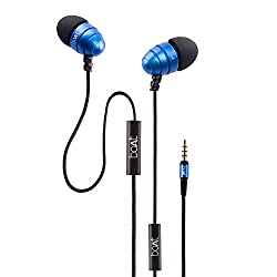 boAt Bassheads 170 In-Ear Earphones (Blue) with One Button Mic