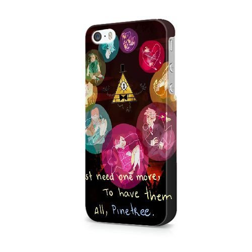 iPhone 6/6S (4.7 pouces) coque, Bretfly Nelson® GARDIENS DE LA GALAXY Série Plastique Snap-On coque Peau Cover pour iPhone 6/6S (4.7 pouces) KOOHOFD910186 GRAVITY FALLS BILL CIPHER WHEEL - 021