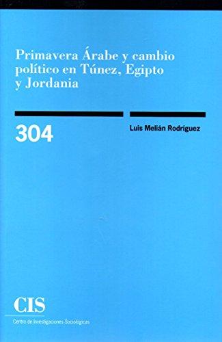 Primavera Árabe y cambio político en Túnez, Egipto y Jordania (Monografías)