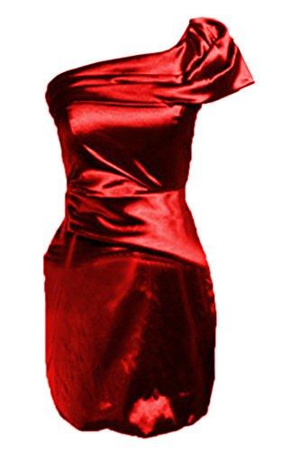 Missdressy - Robe - Crayon - Femme Rouge