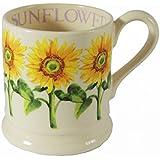 EMMA BRIDGEWATER POTTERY NEW HALF PINT MUG - Sunflower