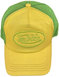 Von Dutch Gorra de béisbol - para hombre Amarillo amarillo Talla única f574ce9c5c4