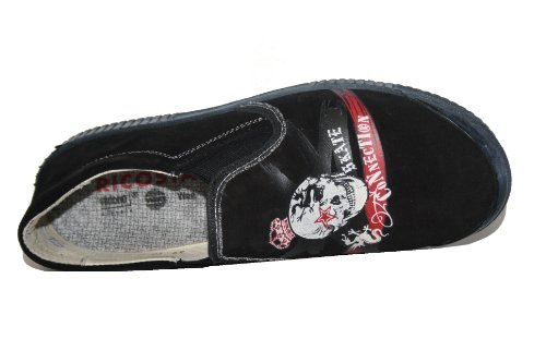 Ricosta Hunter 43.306Unisexe–Chaussures basses, portée loin, enfant F. vrac einlagen Noir - Noir
