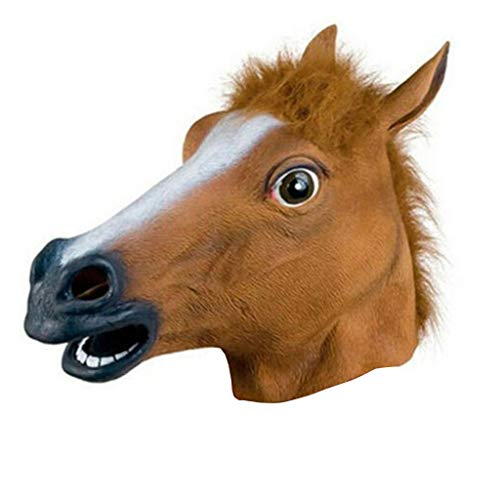 Neue Pferdekopf Maske Latex Prop Style Spielzeug Party - Lebens Brettspiel Kostüm